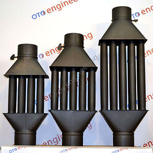 Flue Pipe Chimney Woodburning Stove Radiator Heat