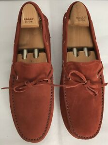 Bally Suede Loafers   eBay