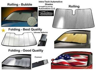 Dodge Trucks Premium Foldable Sun Shade for windshield CUSTOM Precision Cut