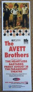 AVETT-BROTHERS-2009-Gig-POSTER-5x17-Seattle-Washington-Concert