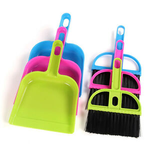 Image Is Loading Practice Small Brooms Whisk Dust Pan Table Keyboard