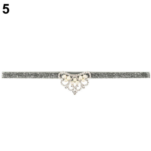 EE/_ LC/_ Cute Sparkling Newborn Baby Girl Crown Headband Infant Toddler Hair Band