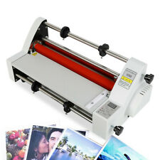 Hot Cold Roll Roll Laminator 13 V350 Width Digital Display Laminating Machine