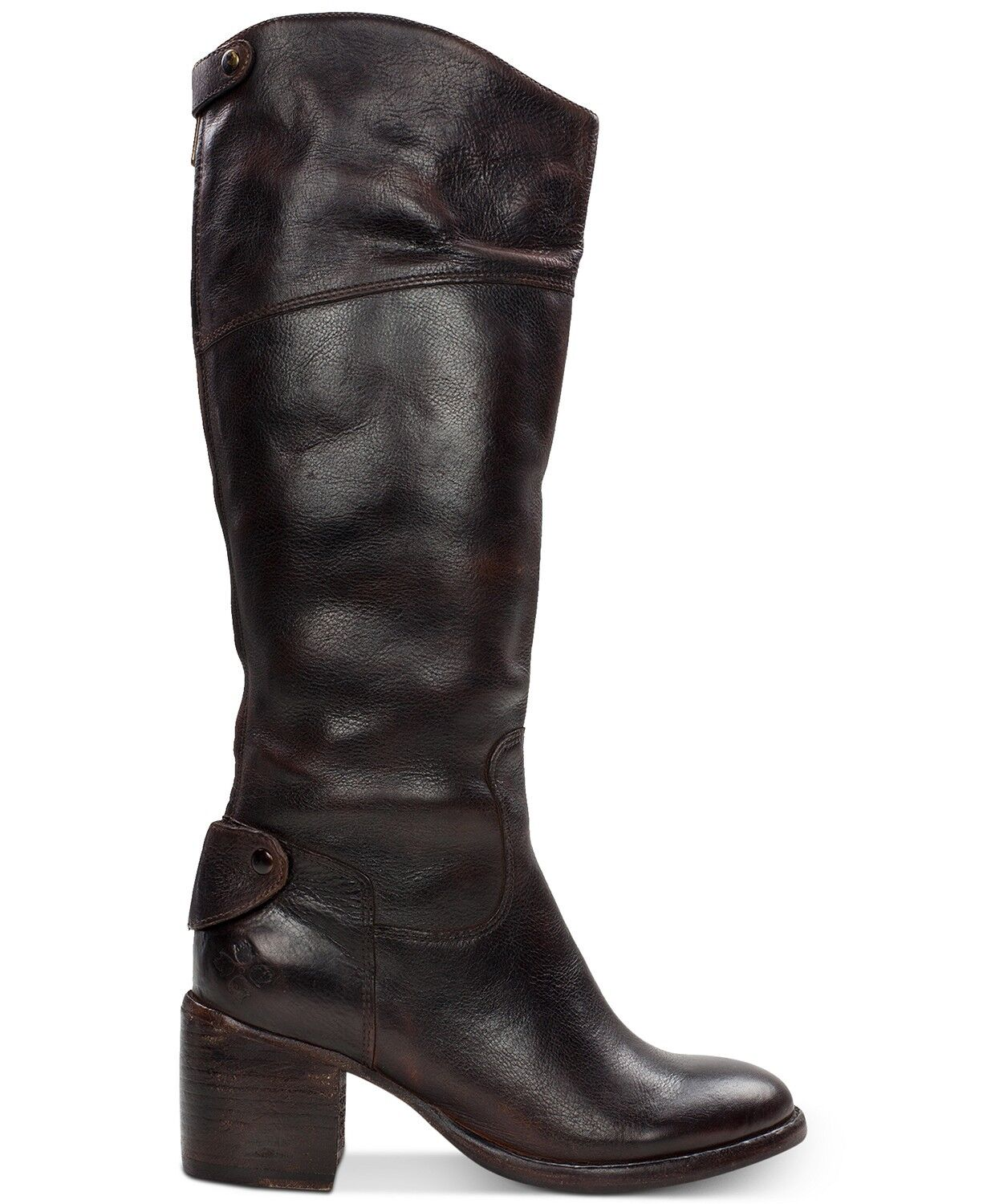 Patricia Nash damen Loretta Cafe Leather Zip Knee Tall Riding Riding Riding Stiefel 9.5 W Wide 92aa45