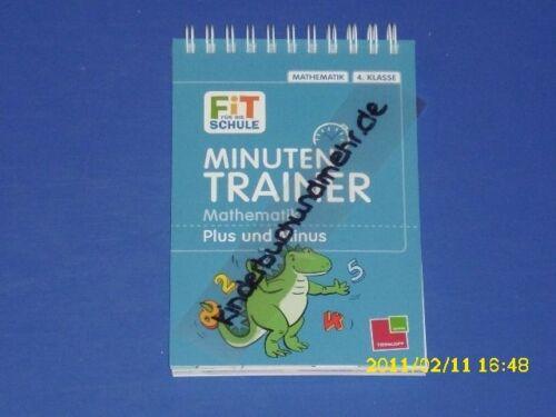 1 von 1 - Minuten Trainer Mathe Plus und Minus 4. Klasse