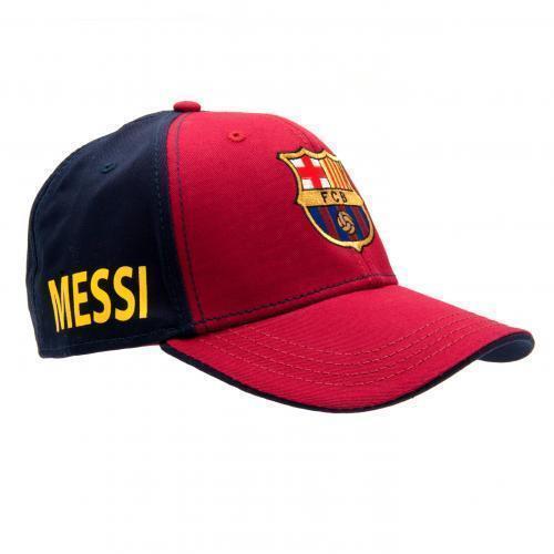 FC Barcelona Cap Lionel Messi Baseball Hat Crest Cadeau Official Licensed Cadeau