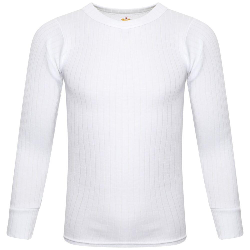 à Condition De 1x 2x Softy ® Enfants Sous-vêtement Thermique T-shirt Homme à Manches Longues Chaud Gilet Lustre Brillant
