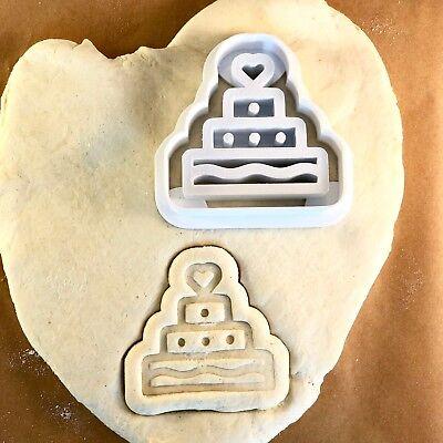 Remarkable Birthday Cake Wedding Cake Cookie Cutter Cute Biscuit Funny Birthday Cards Online Hendilapandamsfinfo
