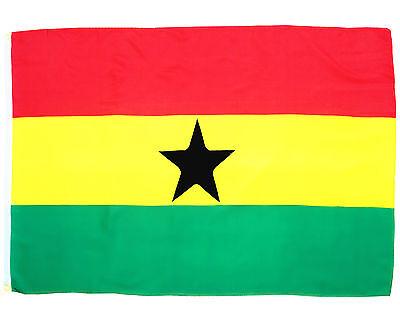 Fahne Ghana Querformat 90 x 150 cm Ghana Hiss Flagge Nationalflagge