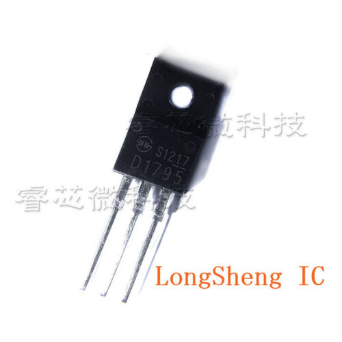 5PCS 2SD1795 Encapsulation 10 A négatif Positif Négatif TO-220 Darlington Transistor
