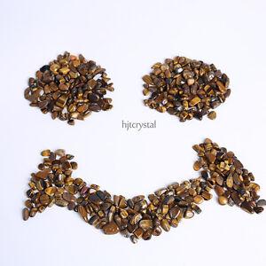200g-Bulk-Tumbled-Stones-Quartz-Crystal-Tiger-eye-Healing-Reiki-Mineral-Pouch