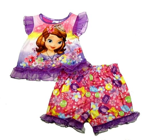 BNWT Girls Toy Story 4 Glitter Playsuit Outfit 2 Pack 12-18 months