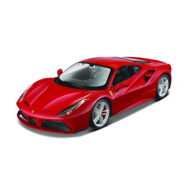 1:24 Ferrari 488 GTB Kit Highly Detailed Build Your Own Replica Model Car  Red