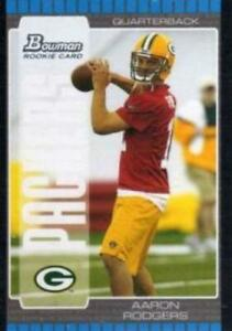 2005-Bowman-112-Aaron-Rodgers-RC-Green-Bay-Packers-NM-MT-RC-Rookie-Card