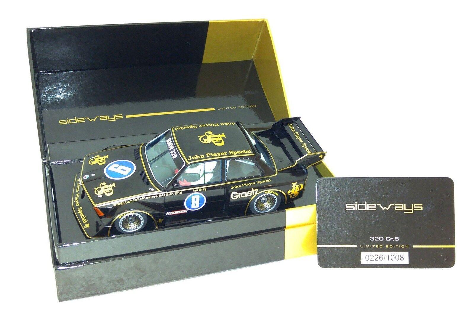 Sideways SWLE06 BMW 320 320 320 Taille 5 JSP - limitée - Penang GP 1983 9 - I. Gris 206ee8
