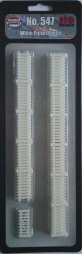 Model Power HO-Gauge White Picket Fence