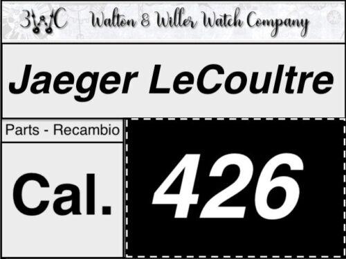 1 PC Jaeger Lecoultre Cal 426 Original Montre Parts OEM NOS