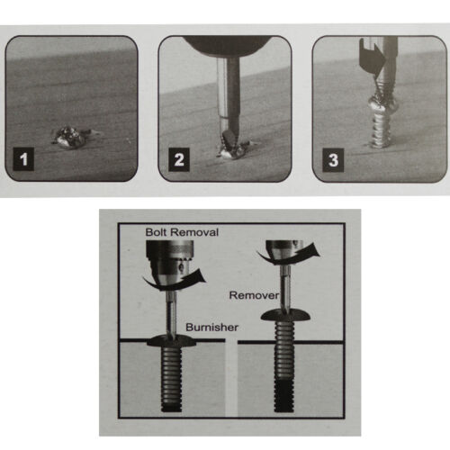 5tlg.Linksausdreher-Bolzen-Schraubenausdreher-Schraube-entferner Torx 6-kant
