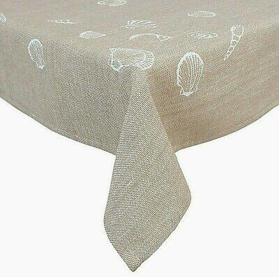 """Baumwolle maritim Clayre /& Eef Tischdecke /""""Sea Shells/"""" 100 x 100 cm"""