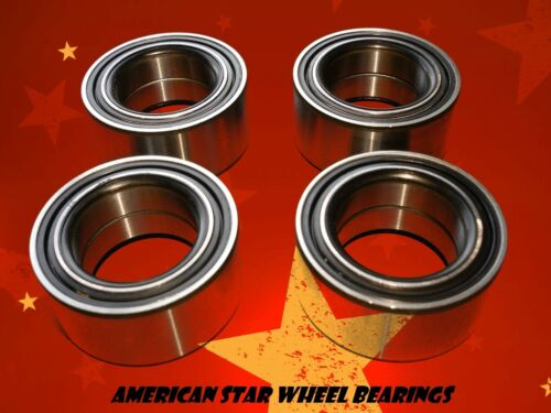 American Star Front /& Rear Wheel Bearings Polaris Ranger ETX 325 15-up
