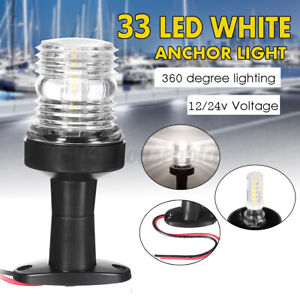 12-24v-Marine-Boat-Yacht-All-Round-Anchor-360-Degree-LED-White-Navigation-Light
