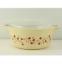 thumbnail 1 - Vtg Mid Century Modern Pyrex 475-B Trailing Flowers 2.5 L Casserole Dish w Lid