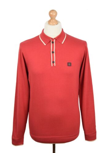 GABICCI VINTAGE LAVA TIPPED POLO MOD CLOTHING NORTHERN SOUL MODS
