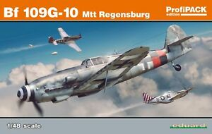 Eduard-1-48-Messerschmitt-Bf-109g-10-Mtt-Regensburg-Profipack-Edicion-K82119