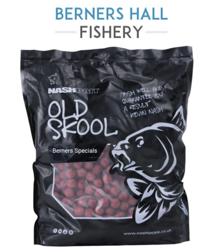Nash x Berners Hall Fishery Specials Stabilised Scopex Boilies 10KG *Both Sizes*