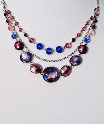 Antica Murrina Celebrity--Multistand Murano Glass Necklace