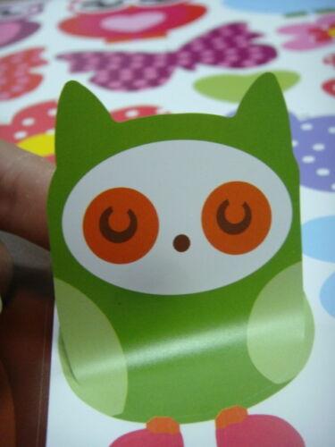 Wall stickers Owl Scroll Tree Hoot II  Decal Art  Nursery Removable Baby Decor
