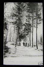 Glass Magic lantern slide KEMMEL AVENUE DU MONT CIRCA WW1