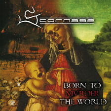 SCORNAGE - BORN TO MURDER THE WORLD CD   SODOM KREATOR
