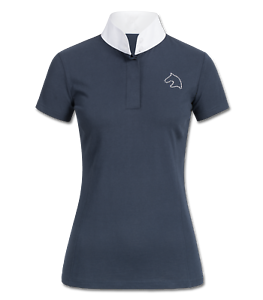 New /'Laura/'  Ladies Technical Competition Show Shirt Jumping Dressage