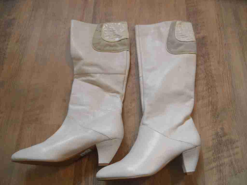 TANGO schöne hohe Stiefel weiß Gr. 36 NEU  ZC517