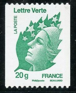 STAMP-TIMBRE-de-FRANCE-NEUF-N-4597-MARIANNE-DE-BEAUJARD-ROULETTE