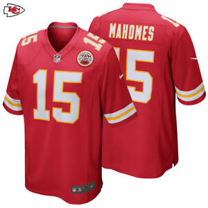 eae72ba83 NEW 2018 Nike NFL Patrick Mahomes Jersey Game Edition  15 Kansas ...