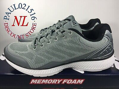 USED FILA Men's Startup Memory Foam SneakerRunning Shoes ~ Gray ~ Pick Size ! | eBay
