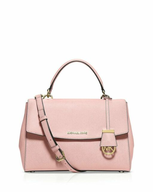 ae7bc2f7b736 NEW Women's Authentic Michael Kors Ava Satchel in Blossom Crossbody Bag  Purse