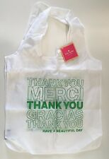 Sold Out NWT Kate Spade Beautiful Day Thank You Reusable Shopping Tote Bag