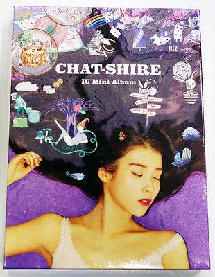 IU - CHAT-SHIRE (4th Mini Album) CD+Photobook+Poster