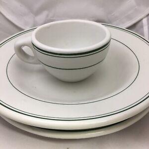 Vintage-Ravenswood-WV-Restaurant-Ware-Trenle-Blake-China-Co-Plate-Mug-amp-Bowl