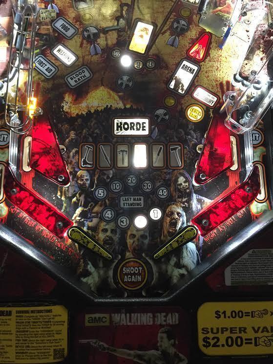 Blood Red Slingshot & Return Lane Protector Set for The Walking Dead pinball