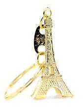 Stile Vintage Torre Eiffel Fascino Telefono Auto Borsa Anello portachiavi
