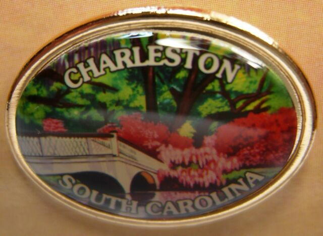 Charleston South Carolina new Hat Lapel Pin Tie Tac HP9019