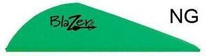 "Bohning 2"" Blazer Vanes Neon Green 36 Pack"