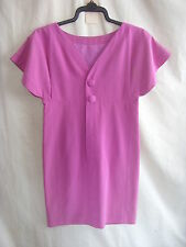 Ladies Dress - Karl Lagerfeld, size 8/36, pink, textured, vintage, smock - 2360