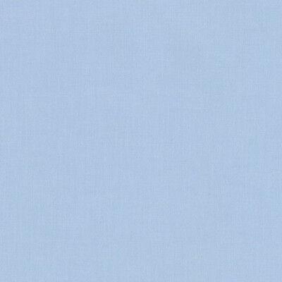 "ROBERT KAUFMAN ""KONA COTTON SOLID"" Blue #2 by the 1/2 yard"