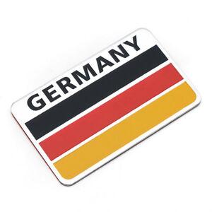 Sticker-Aufkleber-Emblem-Deutschland-Germany-Auto-Metall-selbstklebend-3D-DEU