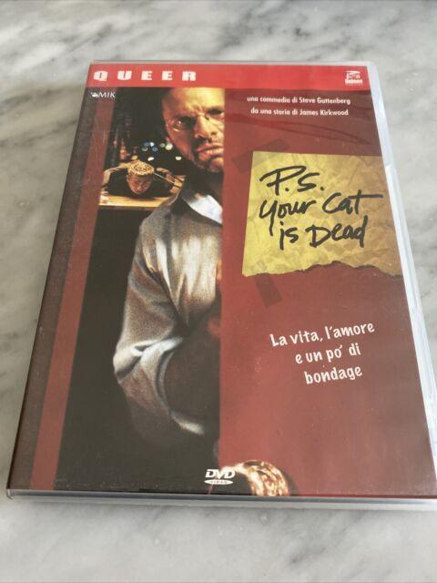 "DVD ""P.S. YOUR CAT IS DEAD"" Steve Guttemberg QUEER DOLMEN ITALIA GAY INTEREST"